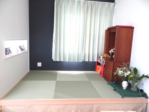 小上がりの畳正面