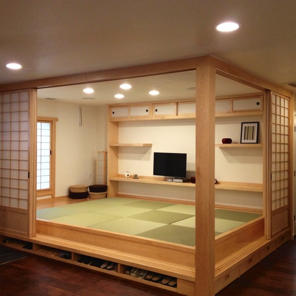 カルフォルニアの畳の部屋