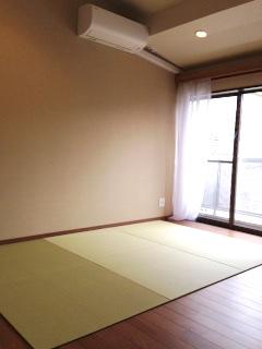 床暖房の入ったフローリングの部屋専用の置き畳