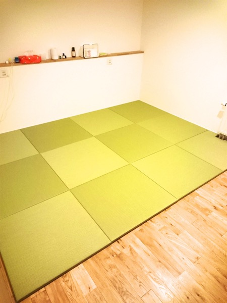 大建工業 清流(和紙表)を敷いたフローリングの部屋