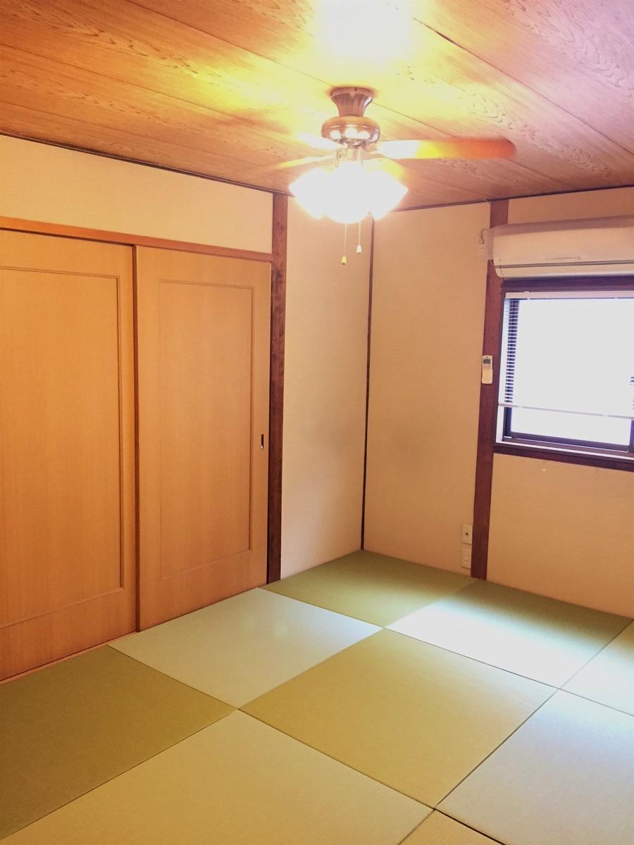 畳の部屋の改装後