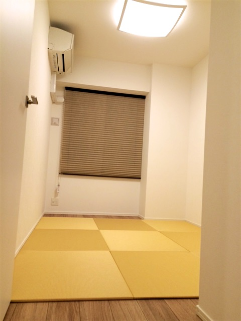 寝室に畳を敷く