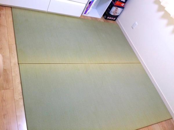 赤ちゃん用の畳スペース 国産