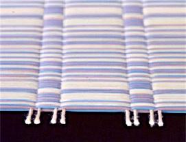 花茣蓙 掛川織の織り方