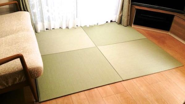 テレビでゴロ寝するための畳
