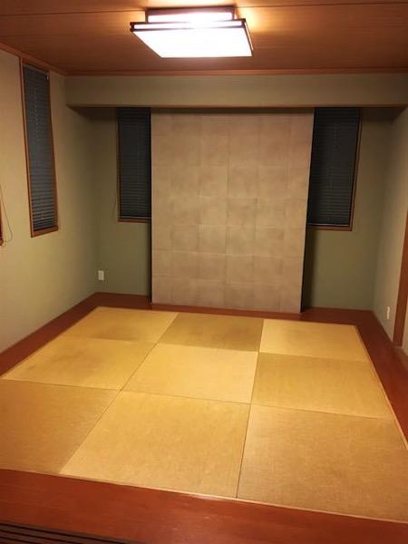 14年間使用した古い畳