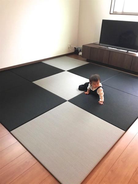 かっこいい置き畳の敷き方