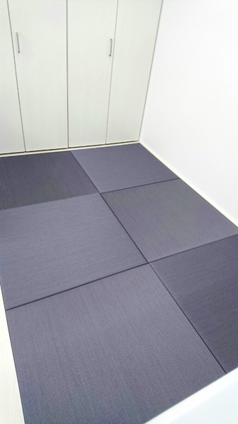 ブルーバイオレットの畳