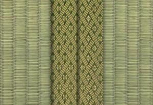 畳縁 3本アジロ