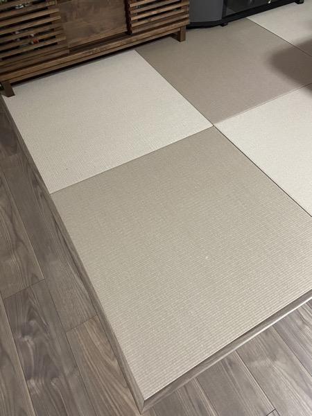 清流 灰桜色 畳の施工事例