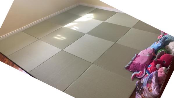 フィリピンの琉球畳