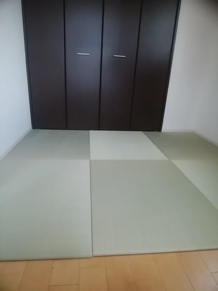琉球畳を洋室に