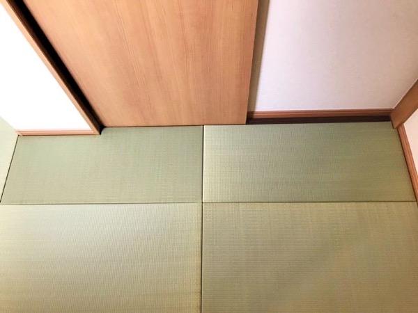 市松模様の畳